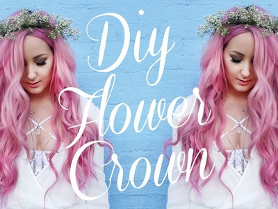 DIY Flower Crown - Baby's Breath! | by tashaleelyn