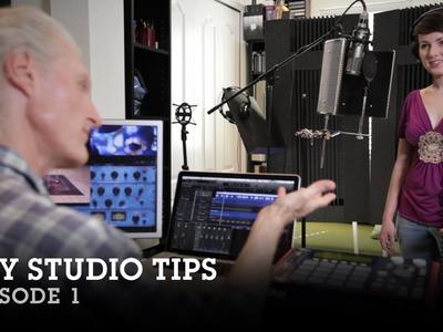 DIY Home Studio Tips: Episode 1- Paul Harlyn