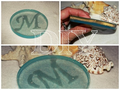 DIY Ocean Sandy Beach Inspired Coaster, resin, epoxy