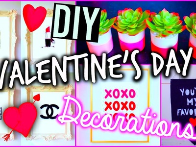 DIY room decorations: Valentine's Day!
