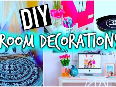 DIY room decorations + Organization