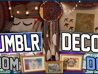 DIY Tumblr Room Decor! | Turn Your Room Into Tumblr! | Cheap & Easy Tumblr Room Decor Ideas!