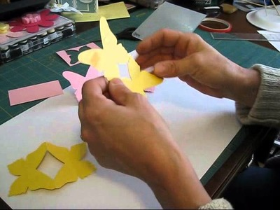 Easel Butterfly Card frenchiestamps.com