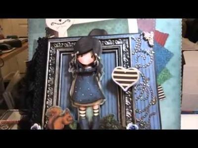 Gorjuss girl mini album 2013