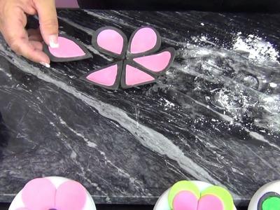 Gum Paste Power Flowers by www SweetWise com