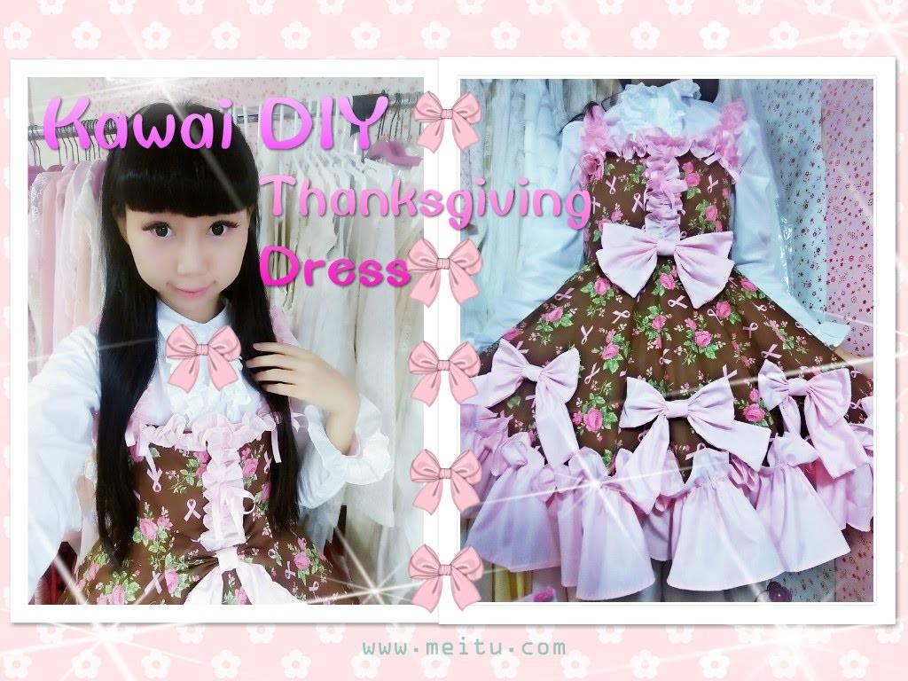 Holiday DIY- How to Sew a Cute Thanksgiving Dress - Lolita Fashion