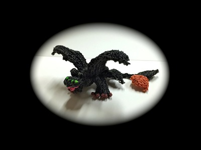 How to Loom Your Dragon (Part 8.9 Toothless.Nightfury Adult)