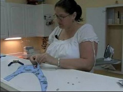 How to Make a Baby Bib : Applying Baby Bib Snaps