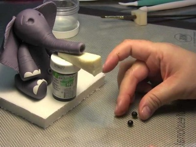How To Make A Baby Elephant Cake Topper: Part Seven