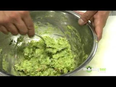 How to Mix all of the Ingredients of Guacamole Together