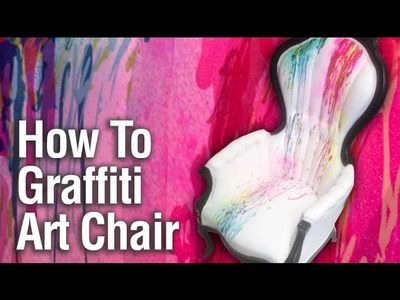 How To Paint a Graffiti Art Chair