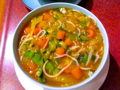 How To: Spicy Veggie Soup