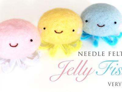 Kawaii Jellyfish - Best Needlefelt Kit For Beginners!