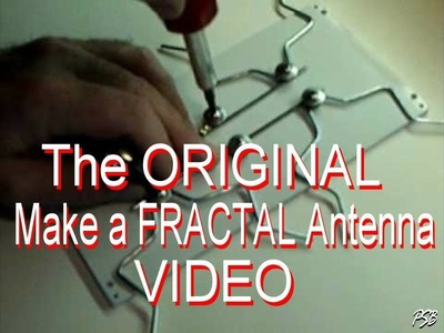 Make a Fractal Antenna for HD + Digital TV ( 1 of 4 )