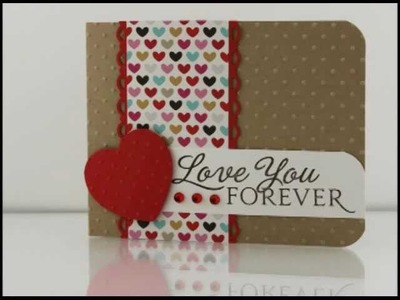 Makeover Monday Challenge #9 Love You Forever Card