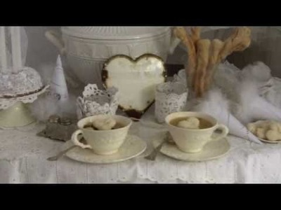 My Shabby Streamside Studio: Vintage Video February 2011 -- Shabby Chic and Jeanne d'Arc Decor