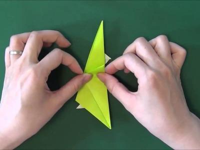 Origami Dinosaur  Stegosaurus   - Origami Dinosaurio Stegosaurus