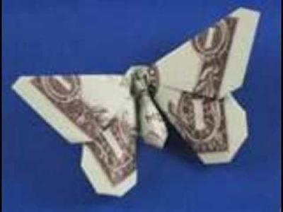 Origami of 1 Dollar Bills
