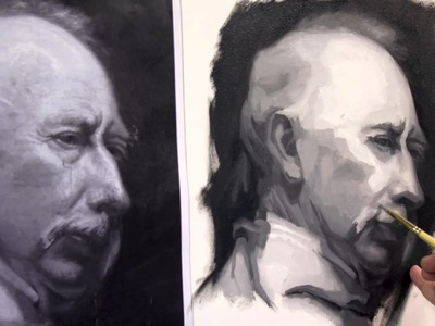 Painting the Portrait: The Grisaille Method in Oil Part 2