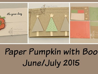 Paper Pumpkin with Boo June.July 2015