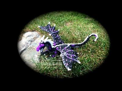 Part 4.4 Rainbow Loom Starflight.NightWing from Wings of Fire (1 Loom)