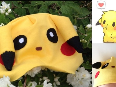 Pikachu Hat Tutorial (Cosplay DIY)