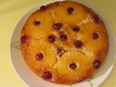 Pineapple Upside Down Cake Recipe from the 1970's