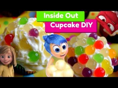 Pixar INSIDE OUT Cupcakes!! Memories DIY