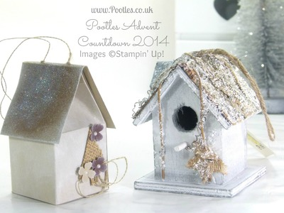 Pootles Advent Countdown Frosty House Decoration Tutorial