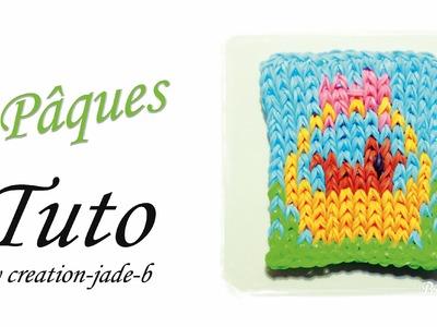 Tuto Rainbow Loom - Mural Pâques !