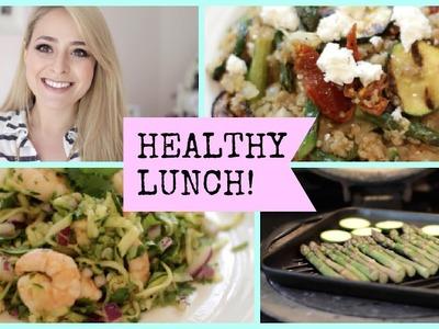 3 Healthy Lunch Ideas!