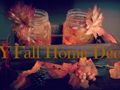 Autumn DIY Dollar Tree Centerpiece | Collab!