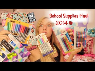BACK TO SCHOOL: Supplies Haul!