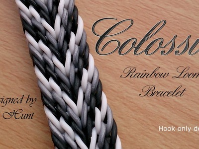 Colossus Rainbow Loom Bracelet - Hook Only