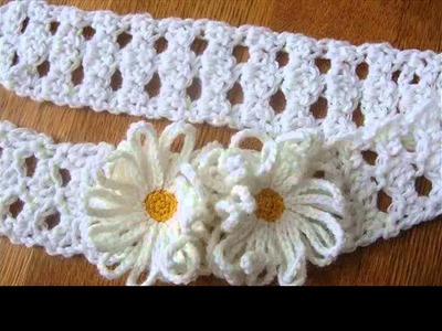 Crochet headbands for children