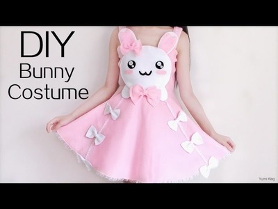 Cute Halloween DIY: Bunny Costume.Dress
