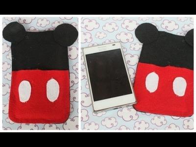 DIY: Case do Mickey para celular