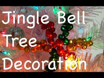 DIY: Jingle Bell Tree Decoration  ♡ Theeasydiy #Crafty