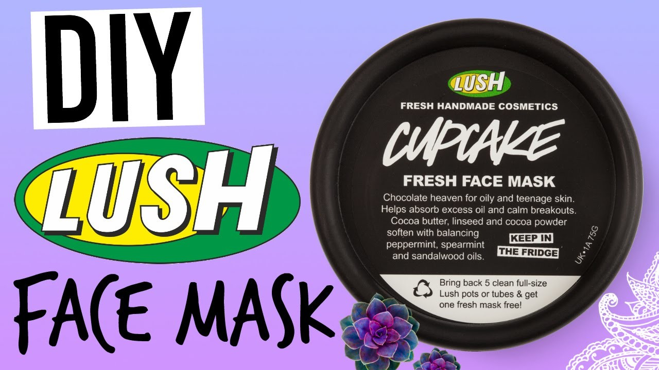 DIY LUSH CUPCAKE FACE MASK!