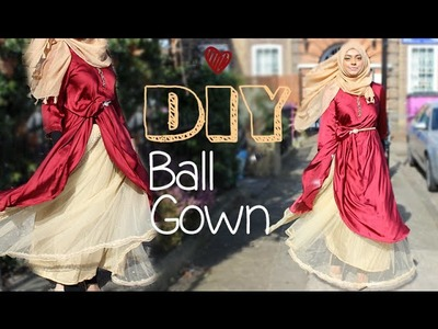 DIY│No Sew Ball Gown