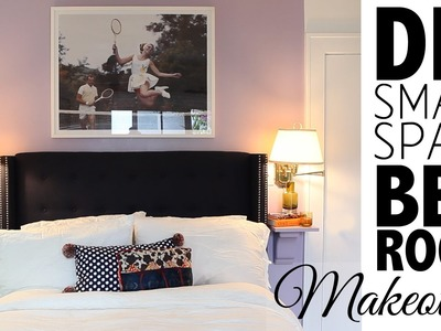 DIY Small Space Bedroom Makeover