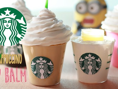 DIY Starbucks Frappuccino Lip Gloss - How To Make Sweet Coffee Lip Balm Recipe - Homemade