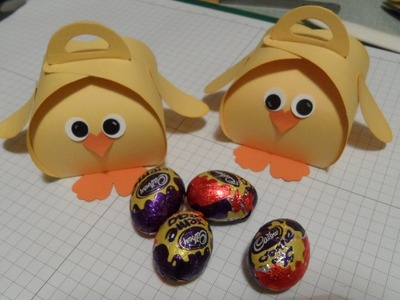 Easter Chick Curvy Keepsake Gift Box