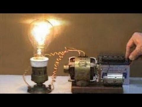 Как из электродвигателя сделать генератор 12 вольт