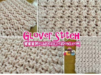 Glover Stitch - Left Handed Crochet Tutorial