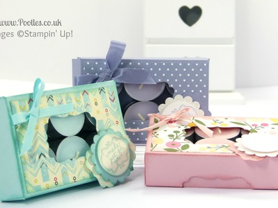 Gorgeous Box for 12 Tea Lights Tutorial