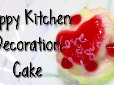 Happy Kitchen Decoration Cake