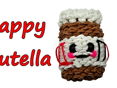 Happy Nutella by feelinspiffy (Rainbow Loom)