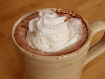 Homemade Hot Chocolate Recipe - Laura Vitale - Laura in the Kitchen Episode 249
