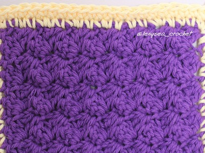 How To Crochet for Beginners: Washcloth.Dishcloth.